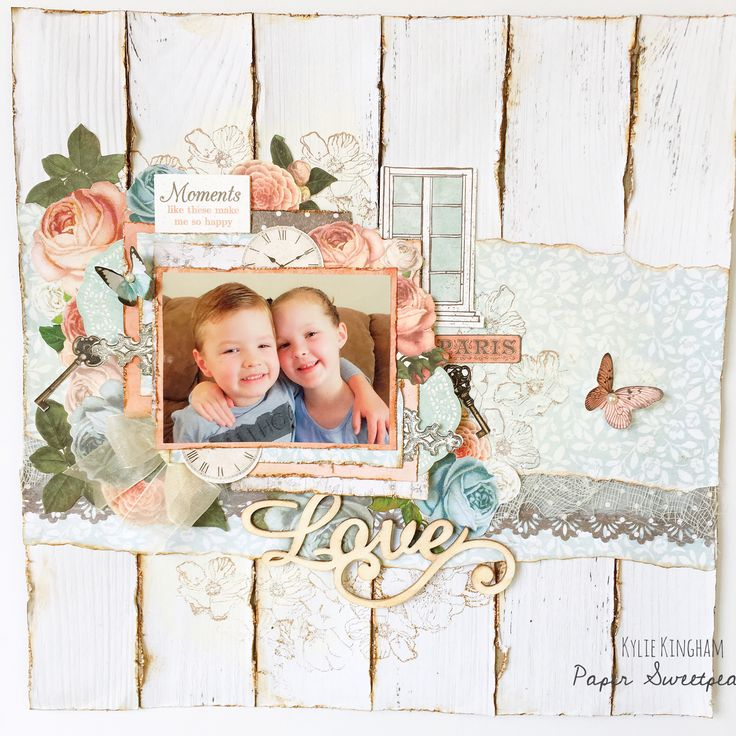 Ooh La La collection. Layout by www.papersweetpea.wordpress.com
