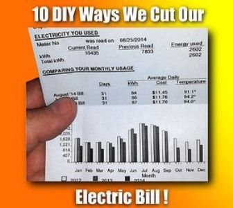 What percentage of your #freelance income goes to pay the electric bill?  |   10 DIY Ways We Reduced Our Electric Bill
