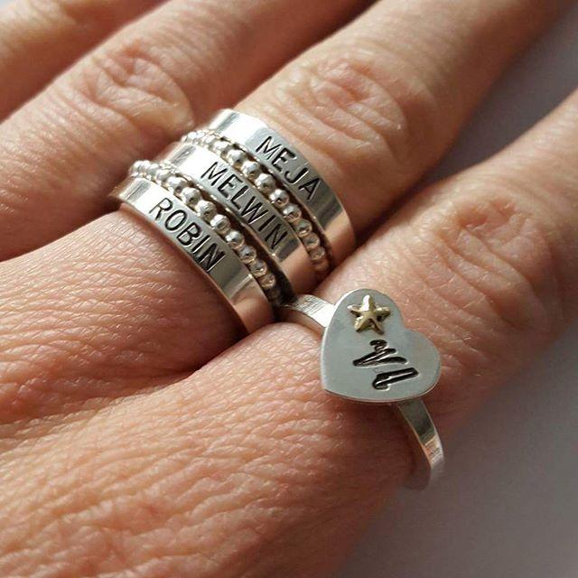 Hanami Zsiska Ring Silver