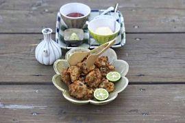 Deep-fried mackerel dumplings
