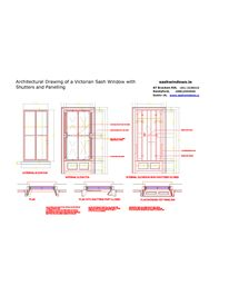 Architectural Drawing Window 14 best sash windows technical drawings images on pinterest | sash