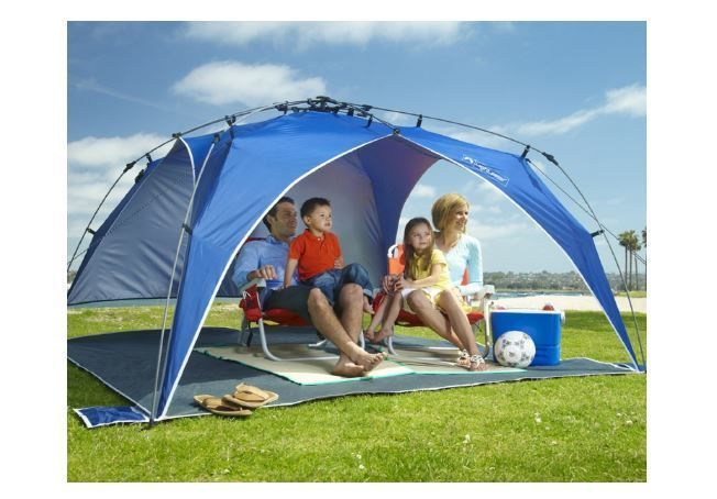 Canopies and Tents Canopy with Sides 8x8 Tent Portable Beach Pop Up Umbrella Sun #LightspeedOutdoors