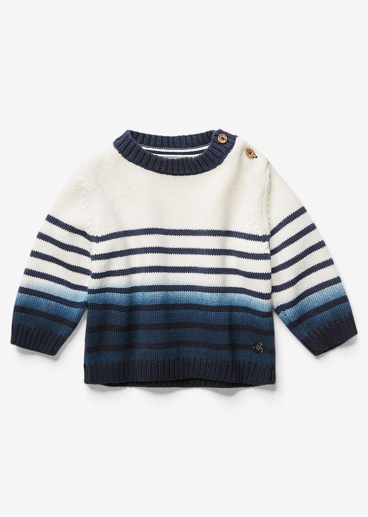 MARC O'POLO, Junior, Baby, Baby Boys, Baby trui, van organic cotton
