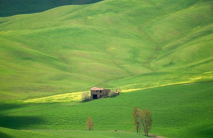Panorami della #Toscana nei dintorni del #borgo - Views of #Tuscany in the surroundings of the #village.