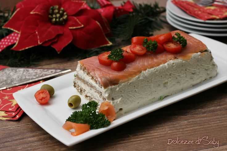 Mattonella al salmone (antipasto senza cottura)