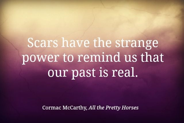 Happy early birthday, Cormac McCarthy.  Steph's Stacks: Quote of the Week: All the Pretty Horses by Cormac McCarthy
