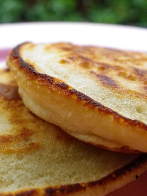 Pancakes de plátano - sin leche, sin huevo, sin frutos secos, sin soja