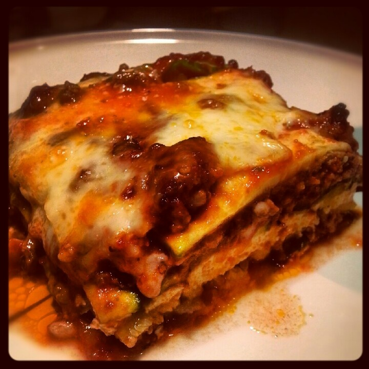 Zucchini lasagna with NO noodles!! | Favorite Recipes | Pinterest