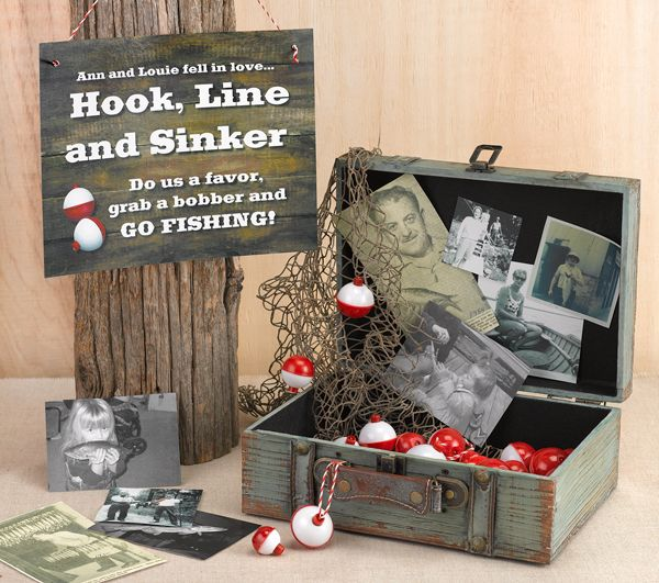 Unique DIY Fishing Favors for Your Wedding Holiday and Wedding Centerpiece Ideas