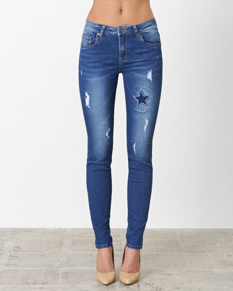 Distressed Denim by New London Jeans - The Ripon Jean
