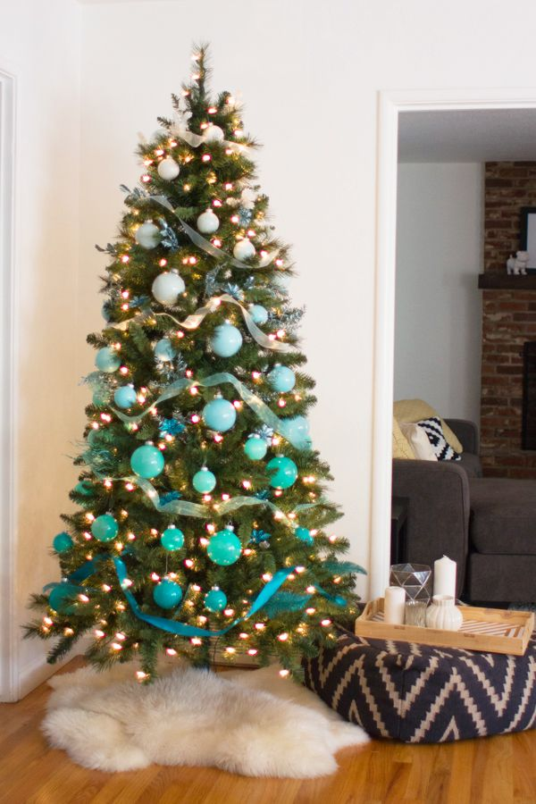 DIY ombre christmas tree #MichaelsMakers
