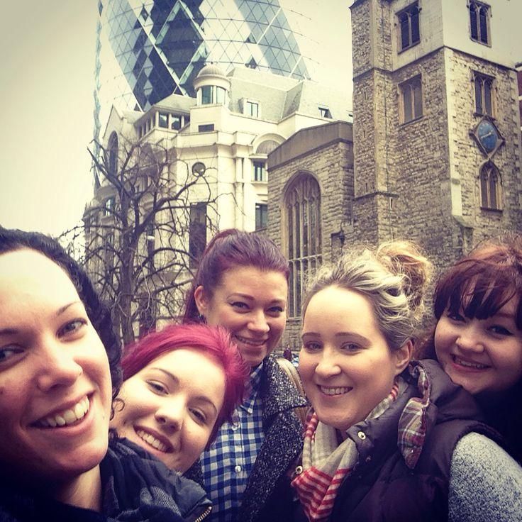 sweet As Team enjoying London
