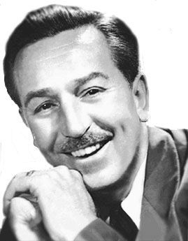 Walt Disney (5 December 1901-15 December 1966) American film producer, director, screenwriter, voice actor, animator, entrepreneur, entertainer and philanthropist.  Co-founder (with brother Roy Disney) of Walt Disney Products.