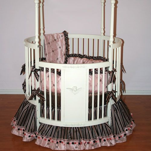 19 Best Images About Baby Beds On Pinterest Round Cribs