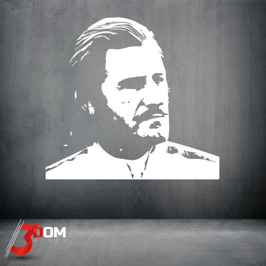 Legends Wall Vinyl - Graham Hill Highlights | 3Dom Wraps – 3Dom Wraps Store