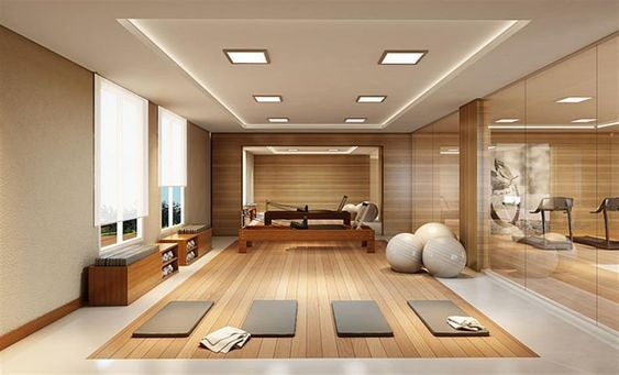 My Dream House Tour In 2020 Yoga Studio Home Gym Room At Home Gym Design Interior
