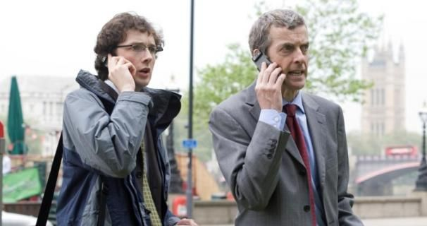 'Capaldi is the perfect Doctor Who' says guest star Chris Addison