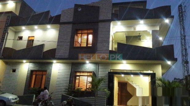 120 Sq Yard Corner Double Storey Vip House In Saadi Town House House Styles Yard