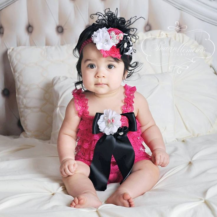 Baby Romper/Baby Girl Romper/Girl Lace Romper/Lace Romper/Baby Lace Romper/Petti Romper/Lace Romper Baby/1st Birthday Outfit/Photo Prop by OohLaLaDivasandDudes on Etsy