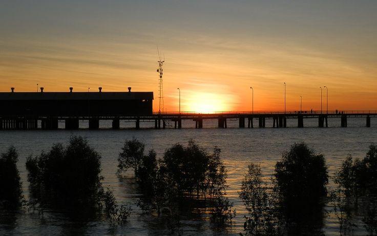 Sunset over Derby Jetty! More of my Darwin to Broome roadtrip HERE: http://www.redzaustralia.com/2015/06/7-days-from-darwin-to-broome/