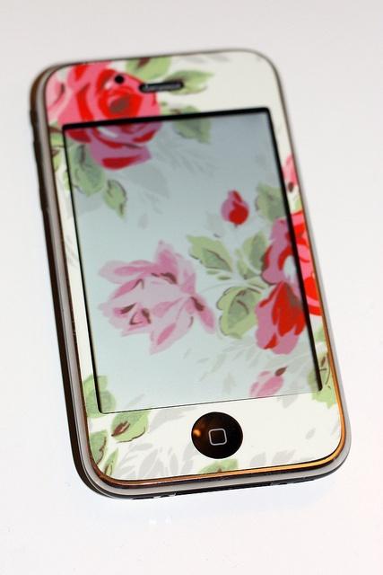 my DIY Cath Kidston iPhone
