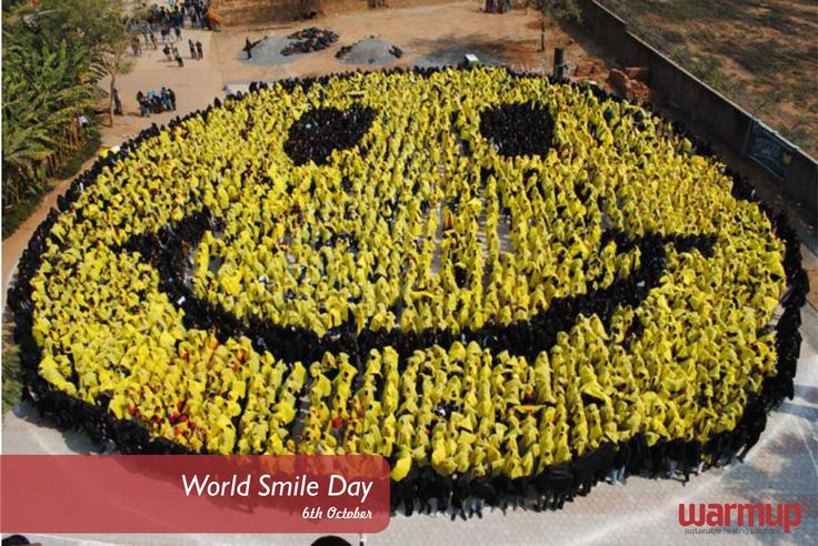 Today is #worldsmileday - be sure to celebrate with a #smile! #warmupsa #warmupyourfeet #nomoresocks