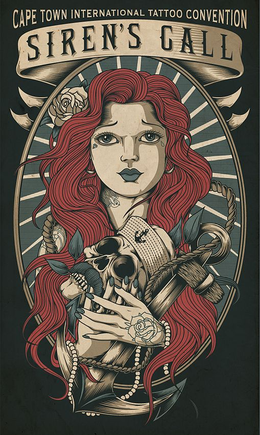 Very Nice !!! Cape Tattoo Expo 2013 by One Horse Town Illustration Studio