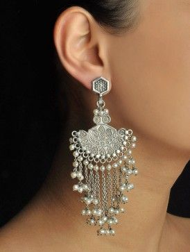 Pearl Mughal Earrings