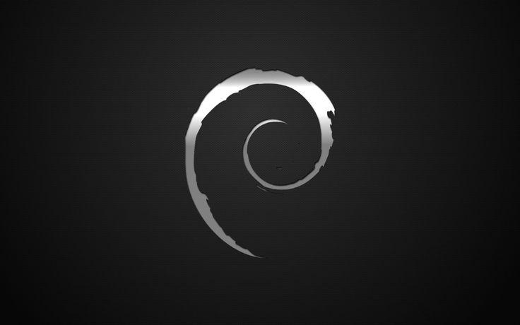 Wallpaper Debian Linux Metalizat