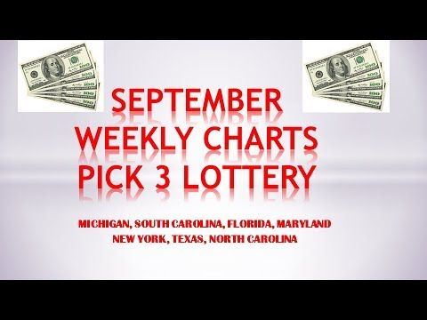 SEPTEMBER 2017 WEEKLY CHARTS AND PREDICTIONS PICK 3 LOTTERY - http://LIFEWAYSVILLAGE.COM/lottery-lotto/september-2017-weekly-charts-and-predictions-pick-3-lottery/