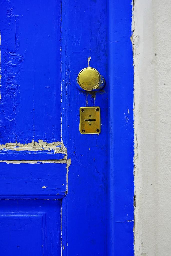 Greece - Aegina - Blue Door