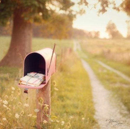 {country living}: The Roads, Country Roads, Driveways, Snailmail, Mailboxes, Dirt Roads, Mail Boxes, Snails Mail, Love Letters