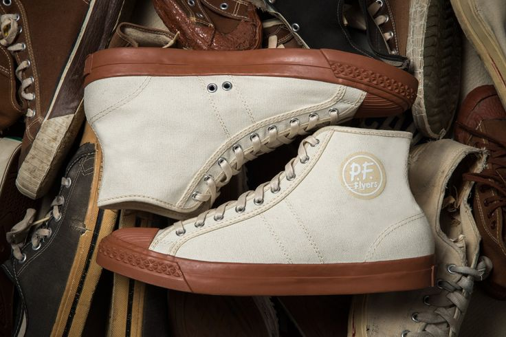"VINTAGE-INSPIRED PF FLYERS ""BCK RAMBLER"" SNEAKERS BY THE BROOKLYN CIRCUS"