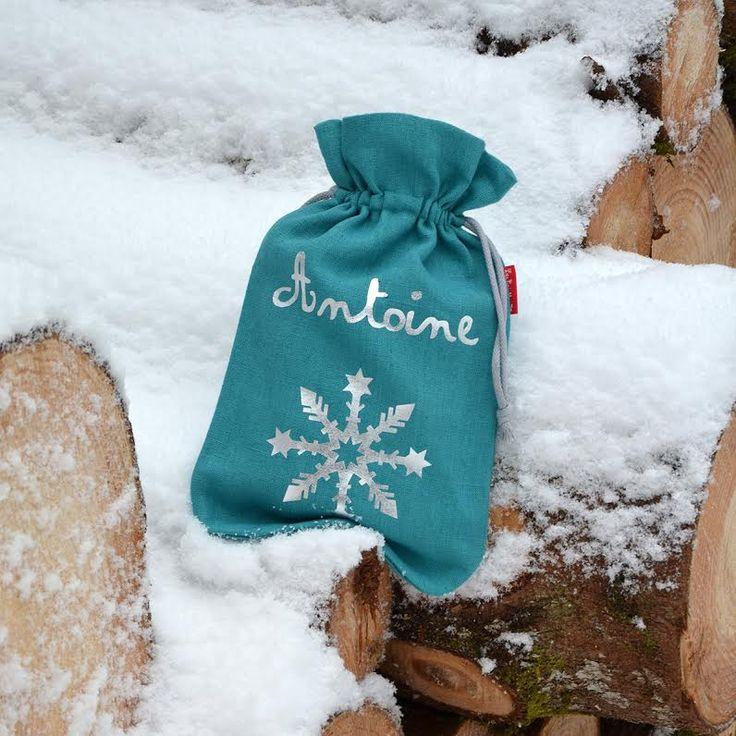 Etoile des neiges... ! Bouillotte pour cocooner !