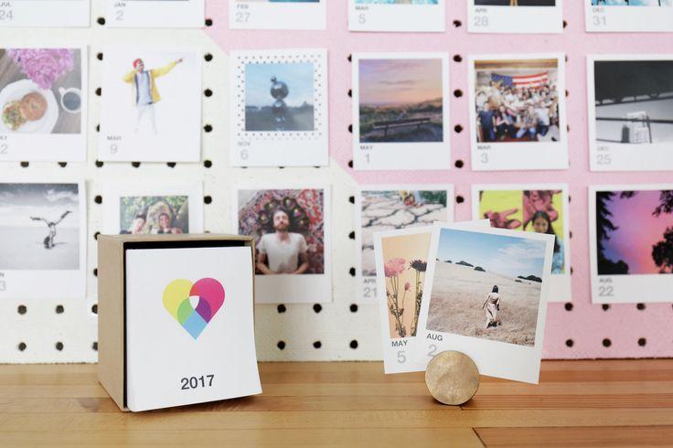 365 of your own photos in a custom calendar! 2017 Calendar   Social Print Studio