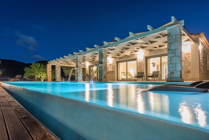 Artina Luxury Private pool villa in Zakynthos Island Greece