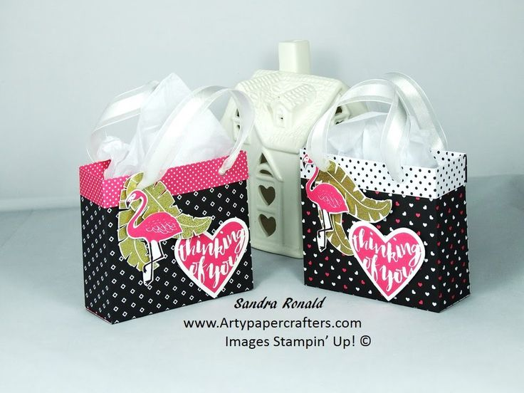 Pop of Paradise Gift Bag using Stampin' Up Products