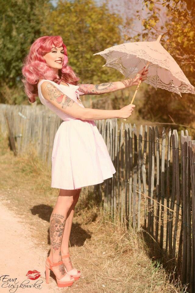 Tattooed pinup is always the best