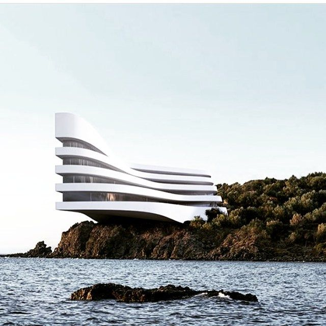 Concept 137 by architect Roman Vlasov.