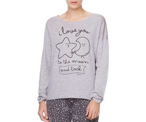 Camiseta Mr. Wonderful luna y estrella - OYSHO