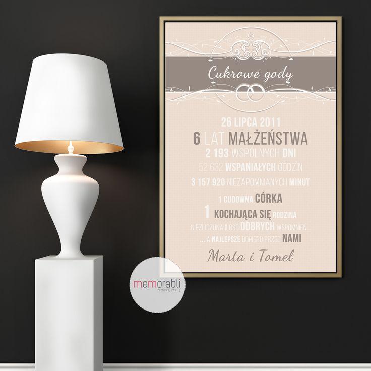 Plakat na rocznicę ślubu  #walentynki #love #wedding #rocznica #valentinesday #anniversary #memorabli #handmade #plakaty #poster #nasciane #dekoracjapokoju #maż #żona #certyfikat