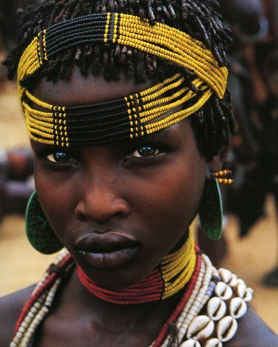 Artagence Coiffure Africaine Ethnik  Ethiopia - Girl  #artagence