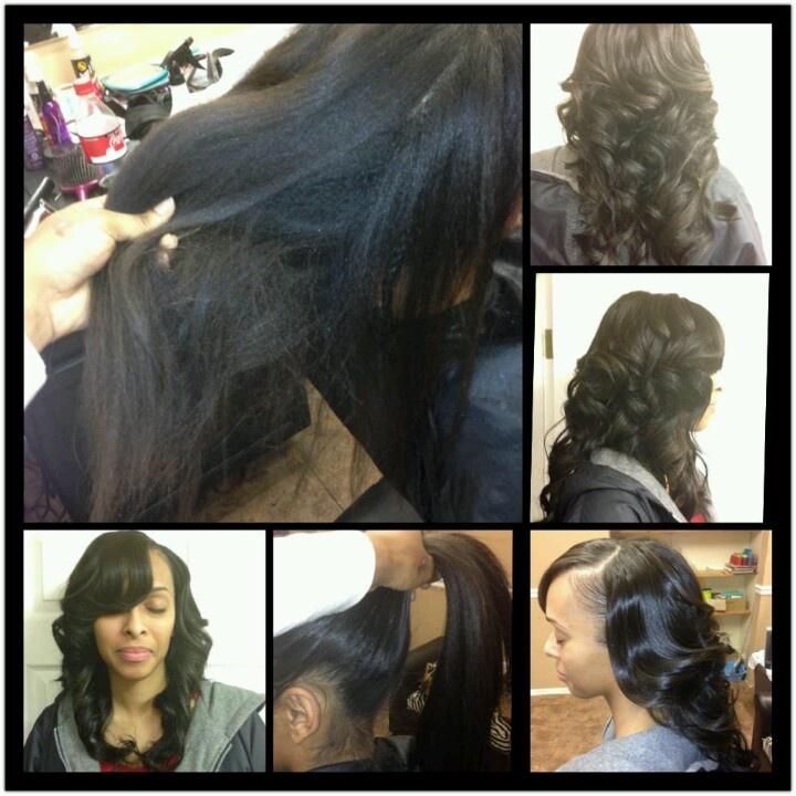 188 best sew in protective styles images on pinterest protective natural looking sew in weave hairstylesblack hairstyleswedding hairstyles hair pmusecretfo Gallery