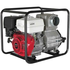 "BE TP-4013HM TP-4013HM - 506 GPM (4"") Trash Pump w/ Honda GX Engine at Water Pumps Direct includes free shipping, a factory-direct discount and a tax-free guarantee."