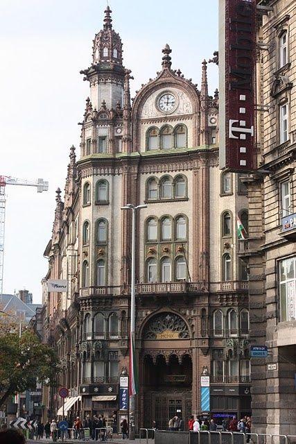 Budapest - Pest Párizsi Udvar.