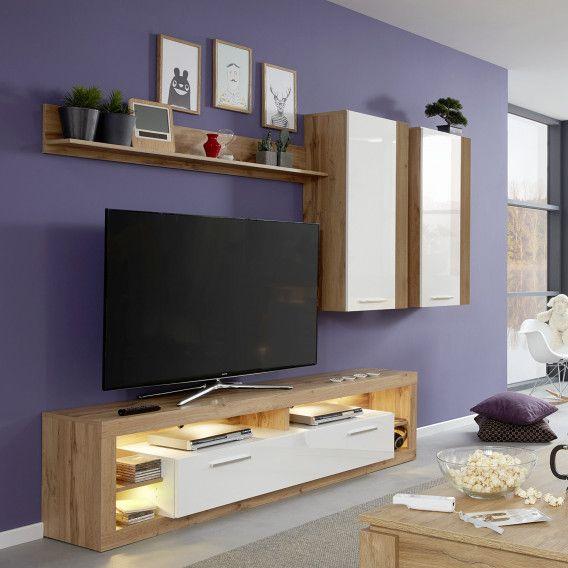 Meuble Tv Rock Acheter Home24 Ensemble De Salon Meuble Tv Meuble Tv Style Industriel