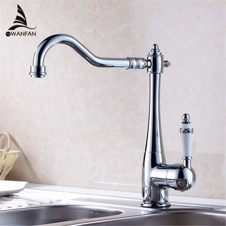 Bathroom Basin Faucet Chrome Polished Brass Swivel Ceramic Handle Kitchen  Faucet/ Bathroom Basin Mixer Tap