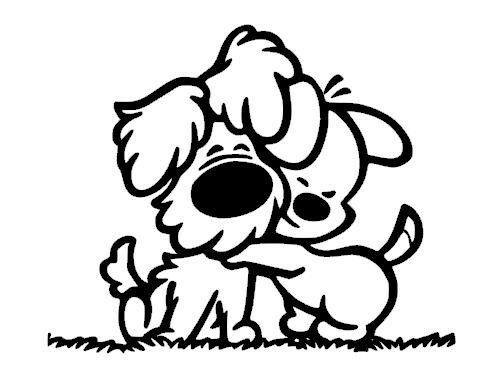 25 Beste Idee 235 N Over Honden Silhouet Op Pinterest Vinyl