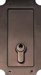 Pocket Door Hardware Pocket Door Lock Manor With Keyed Double Cylinder In  Distressed Rust Finish By
