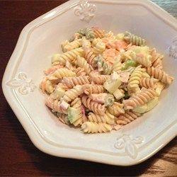 Smoked Salmon Pasta Salad just like Rendezvous